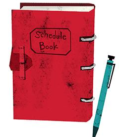 schedulebook